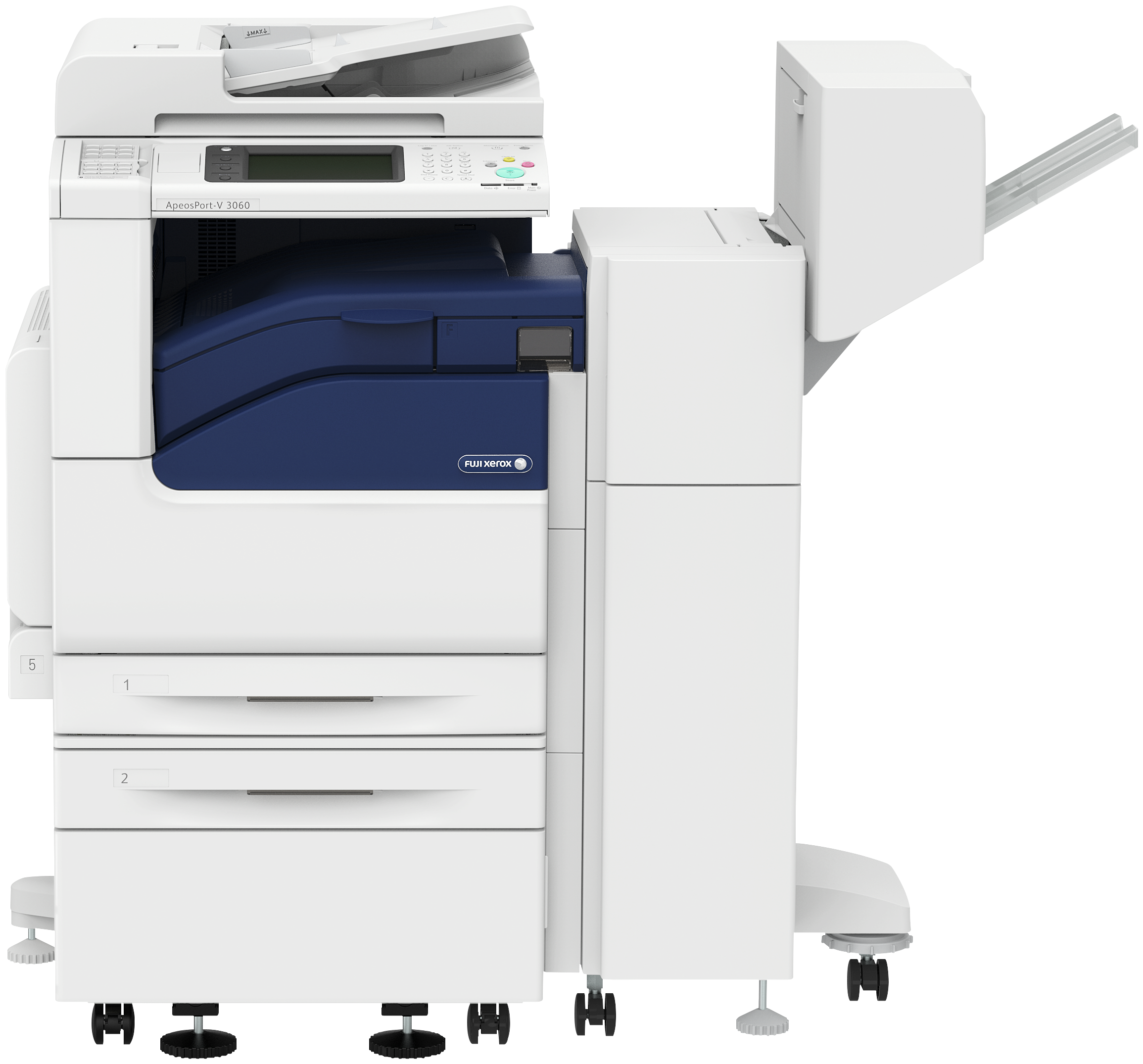 Fuji_Xerox_DocuCentre-V2060_2Trays_Cabinet_Finisher